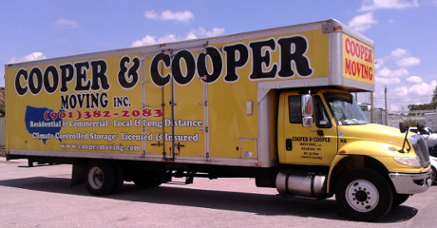 Cooper Moving Truck